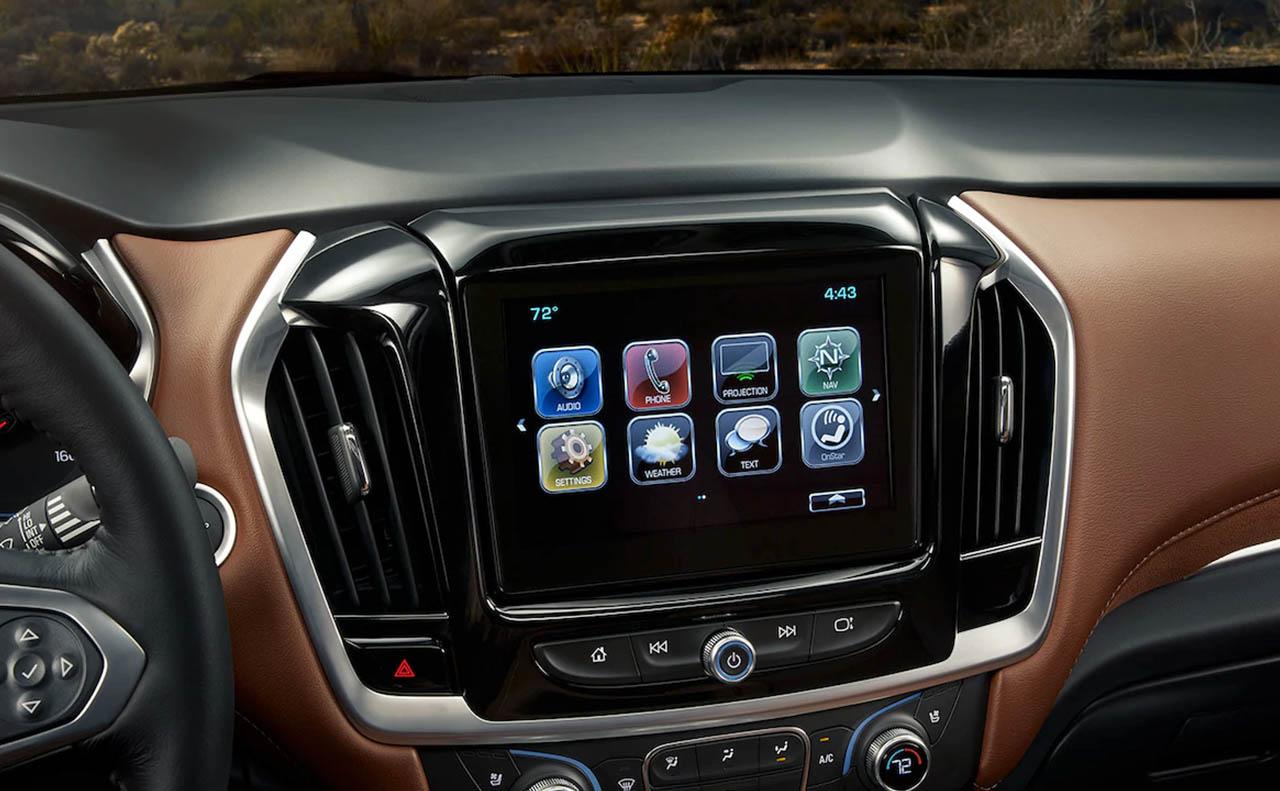 New Chevrolet Traverse For Sale Interior Radio