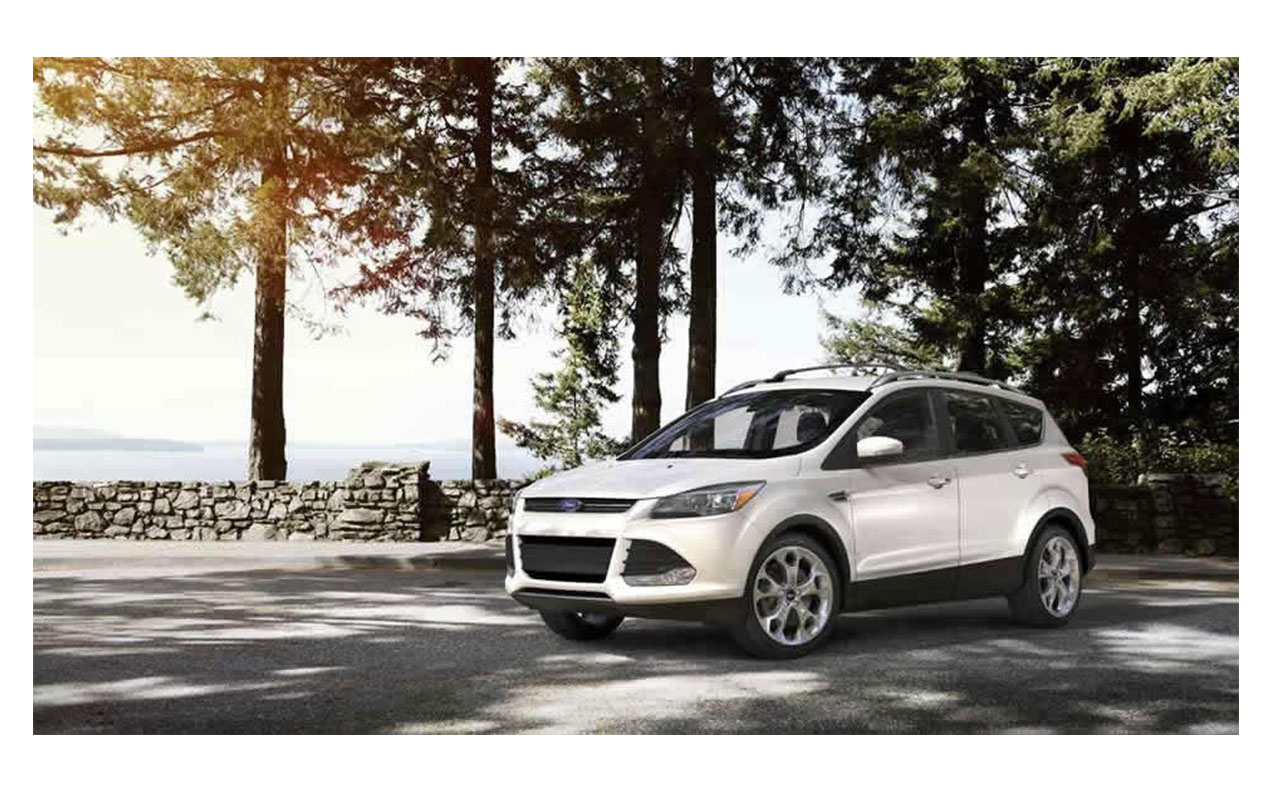 2016 ford escape exterior white rims doors