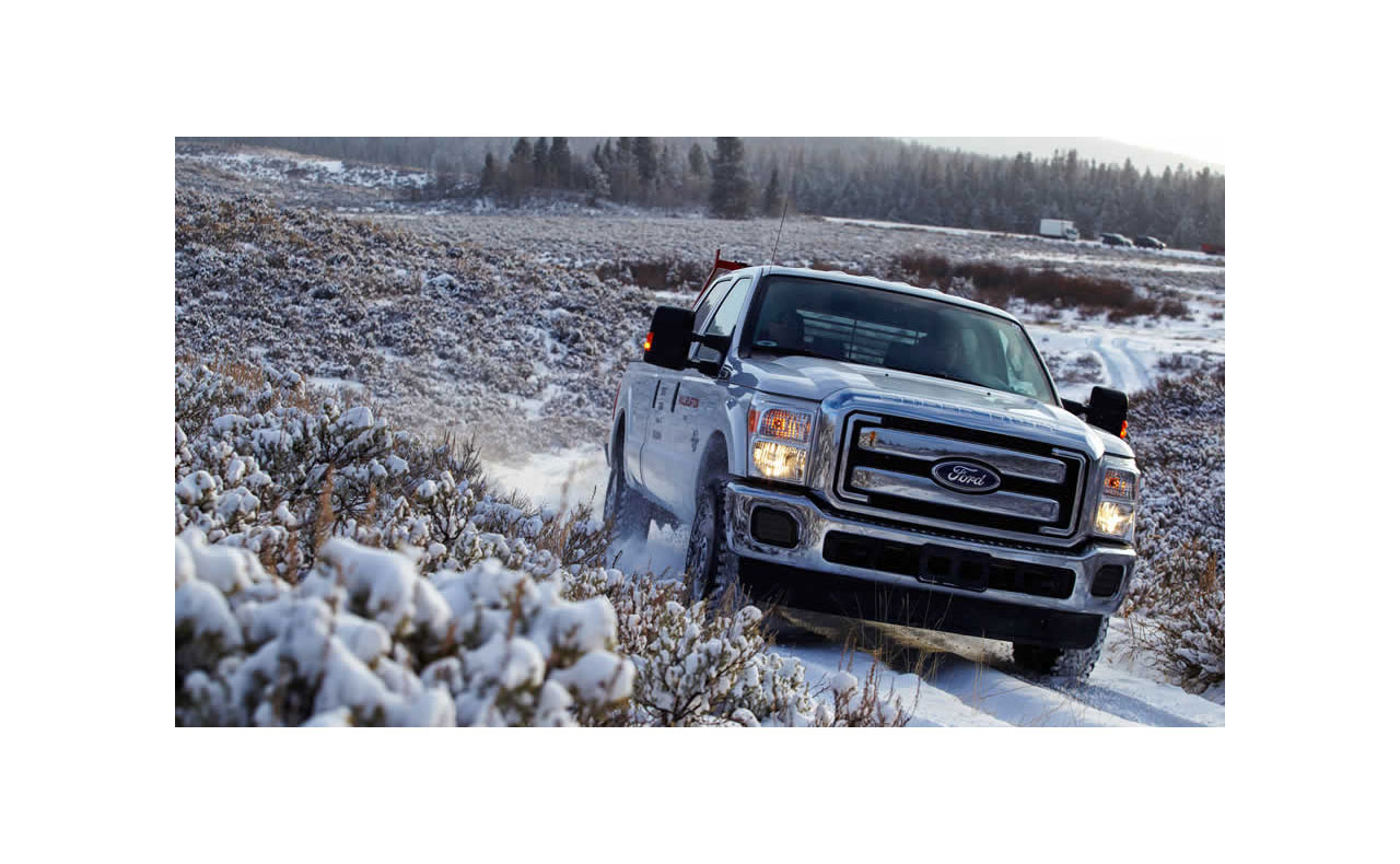 2016 ford f-250 exterior off road snow