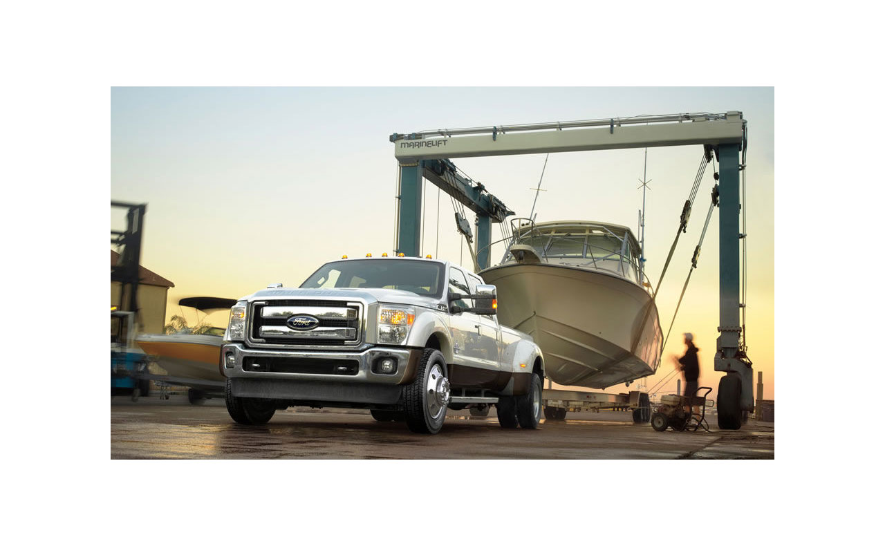 2016 ford f-250 exterior towing boat truck