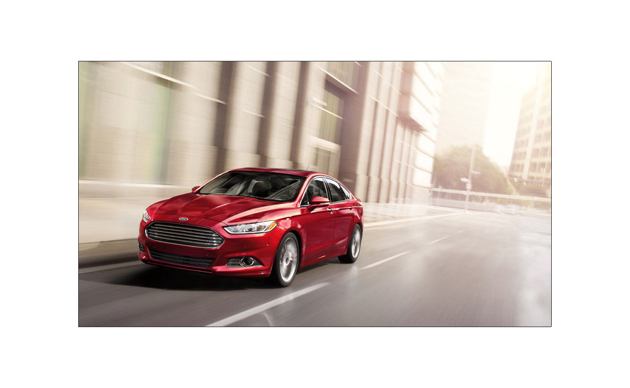 2016 ford fusion exterior grille hood motion