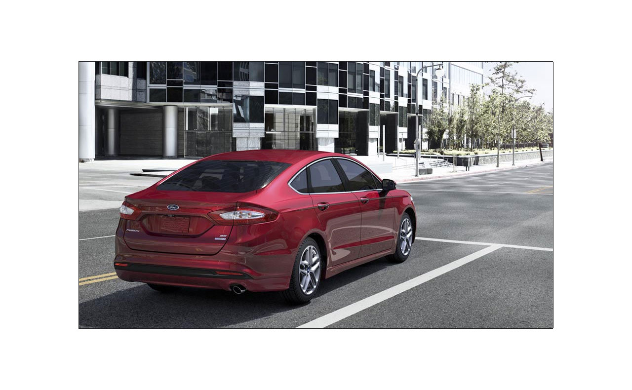 2016 ford fusion exterior red doors rims