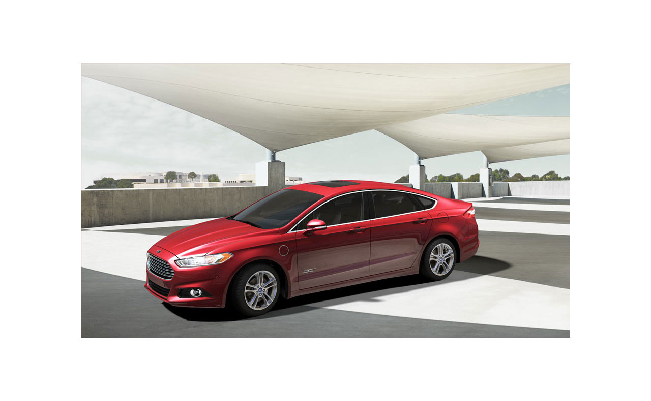 2016 ford fusion exterior red rims tire