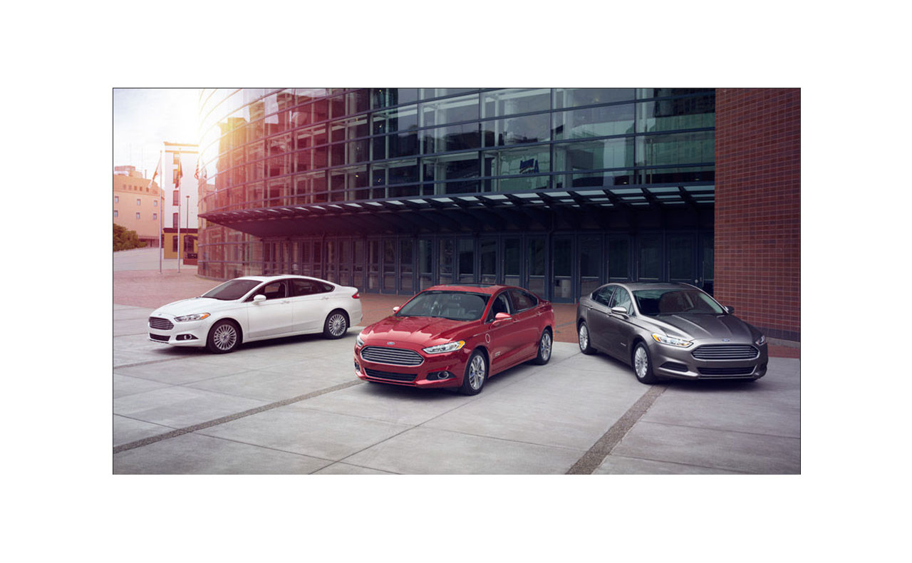 2016 ford fusion exterior red silver white