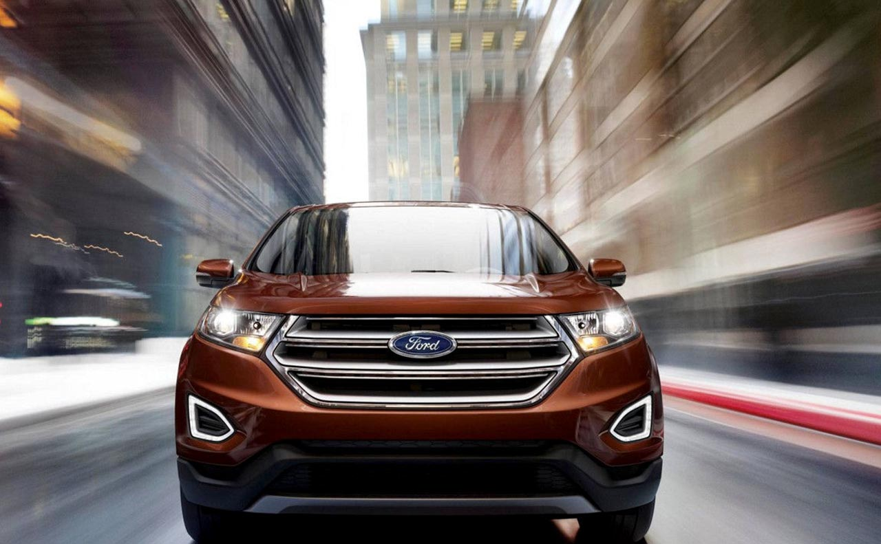 2017 ford edge exterior grille