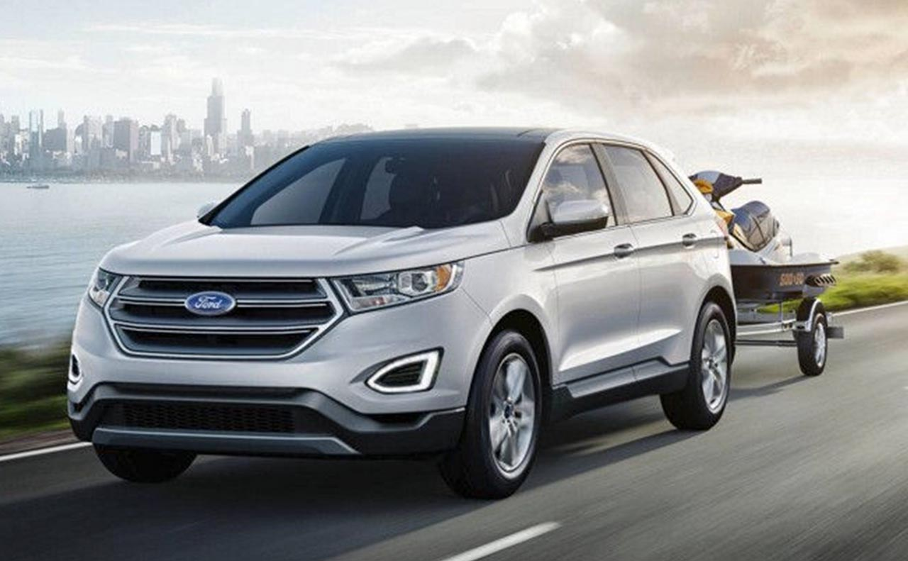 2017 ford edge exterior towing