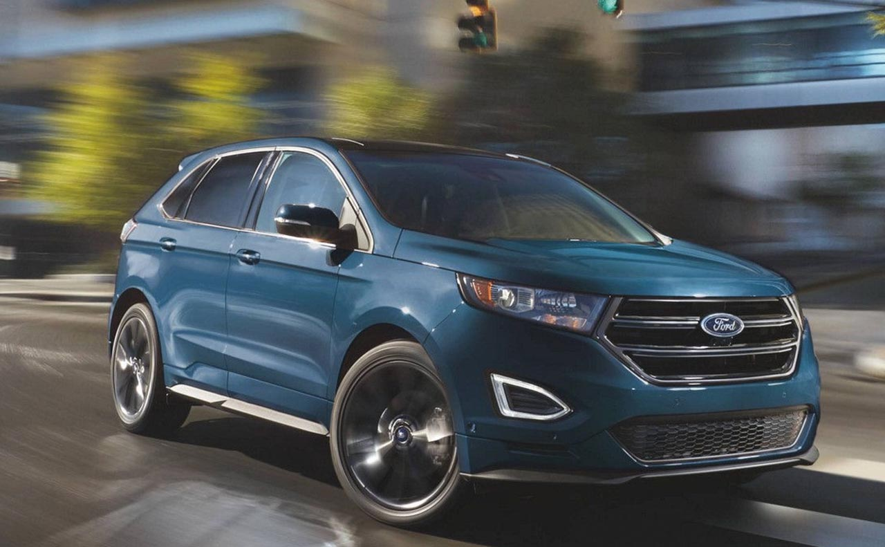 2017 ford edge exterior wheels right side