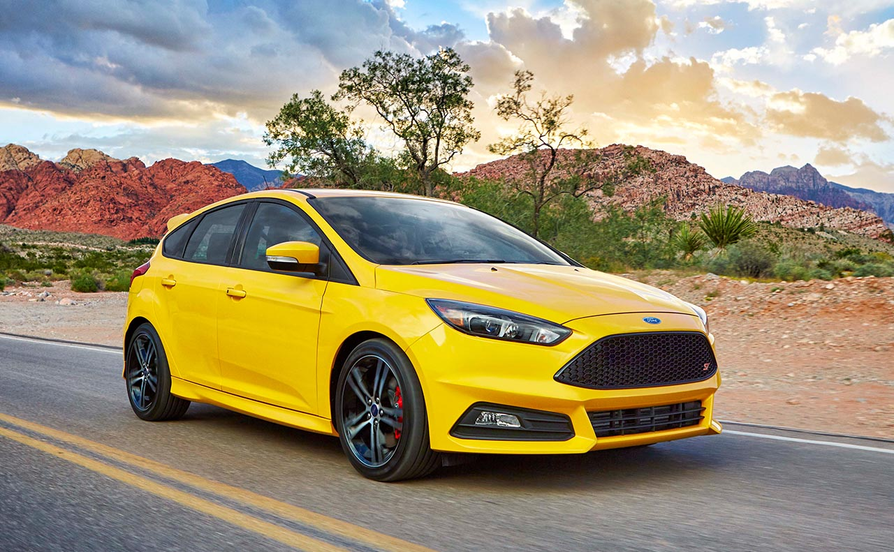 2017 ford focus exterior yellow