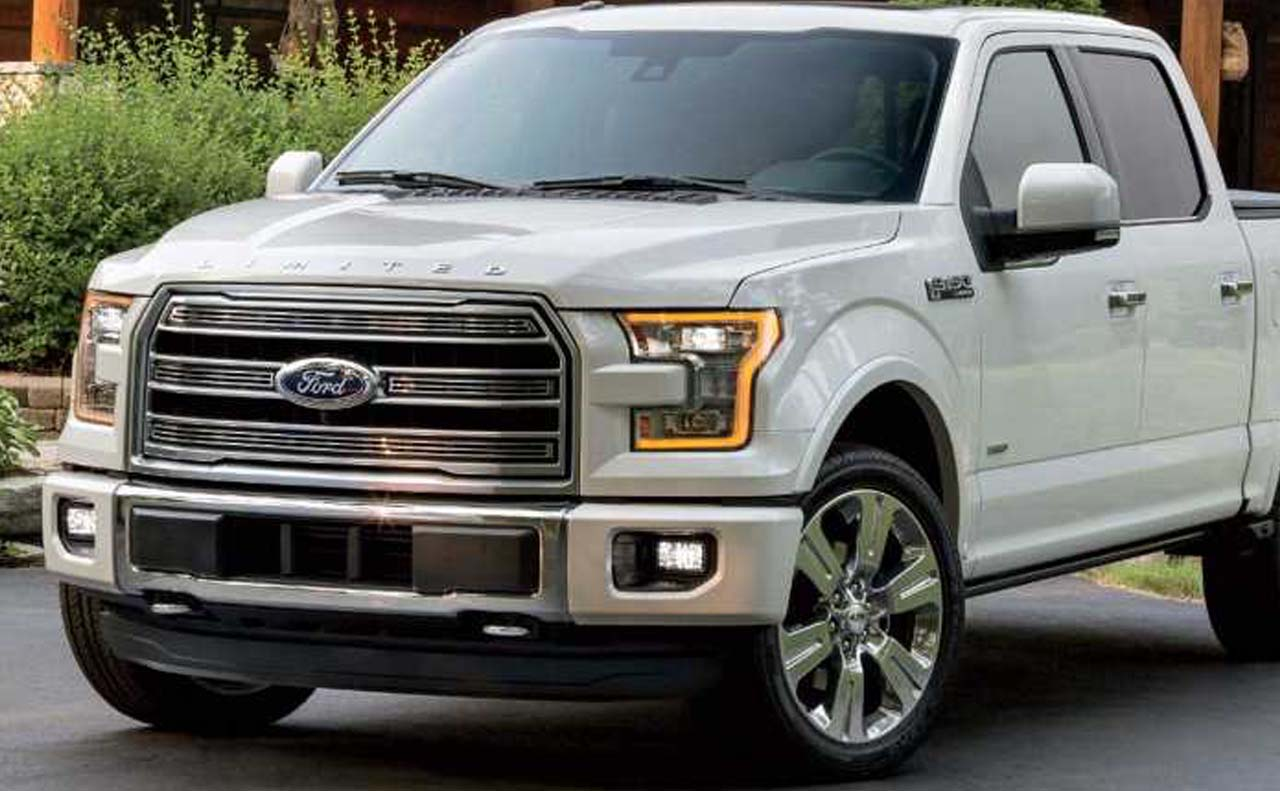 2018 ford f-150 exterior front