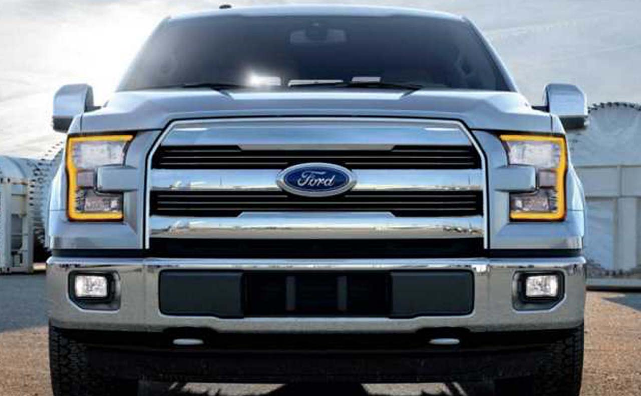 2018 ford f-150 exterior front grille