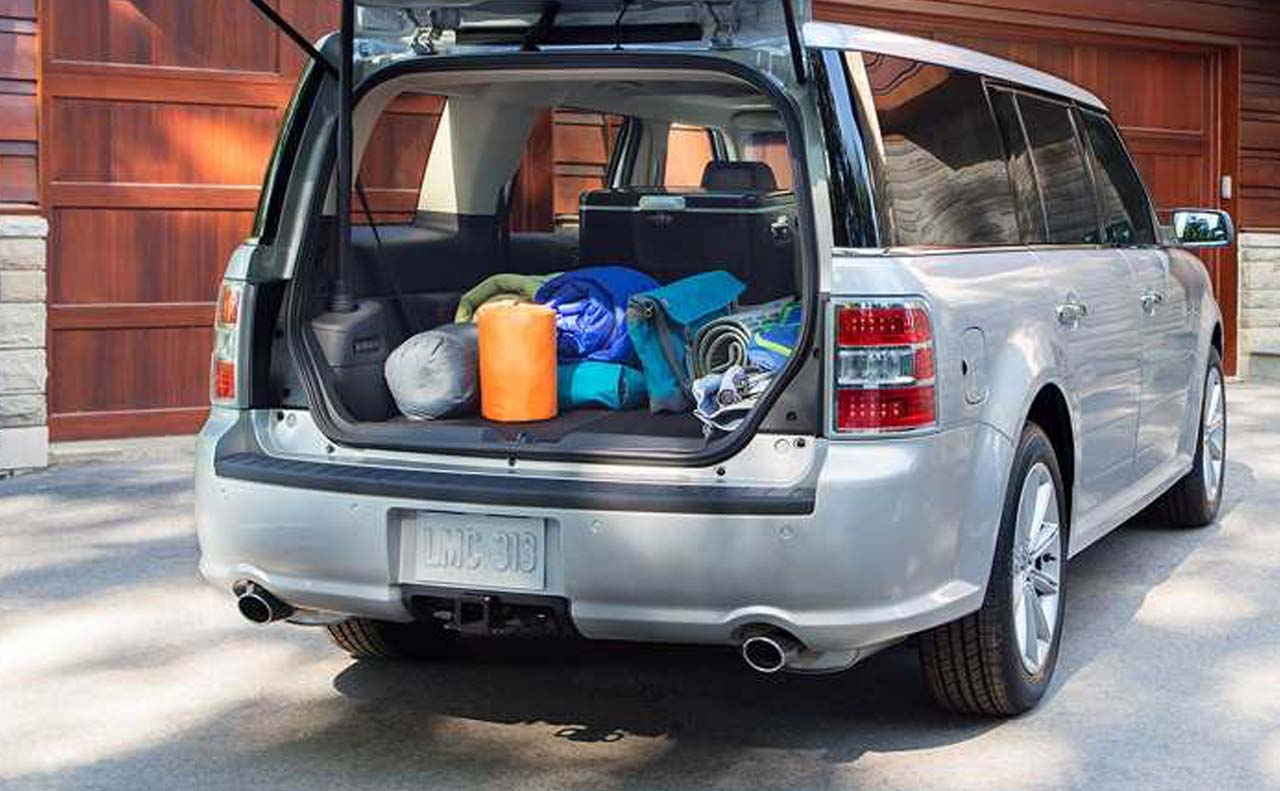 2018 ford flex exterior trunk