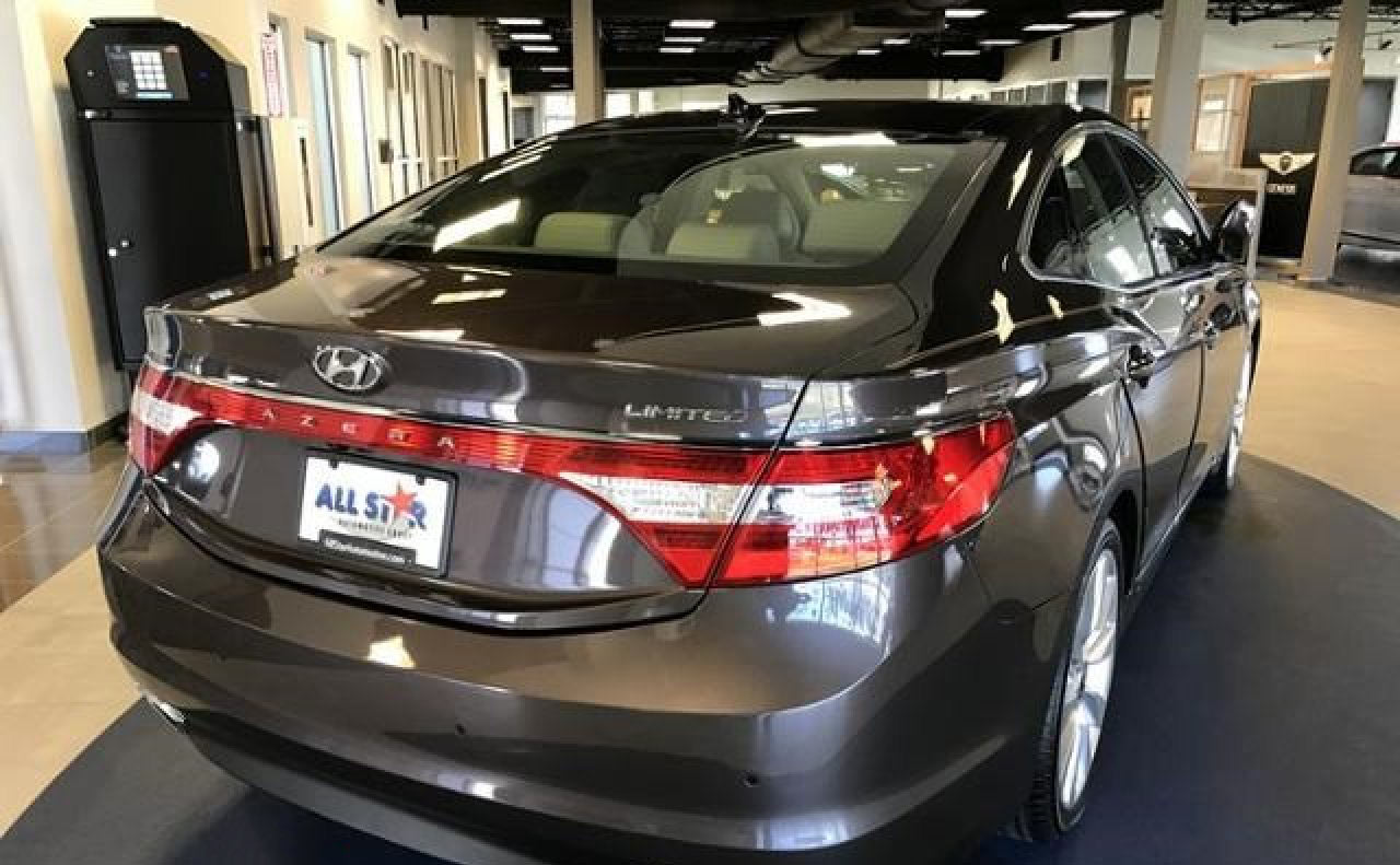 2016 hyundai azera trunk lights