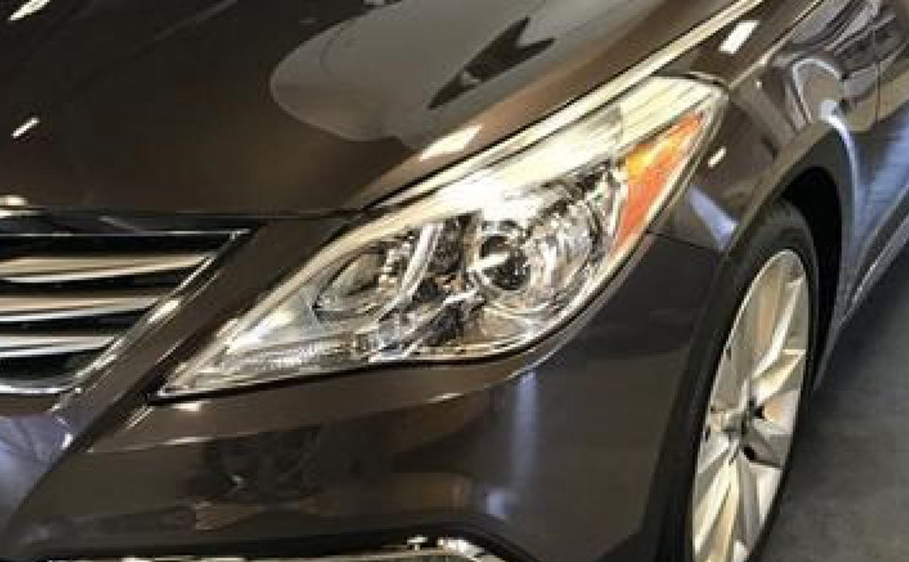 2016 hyundai azera head lights