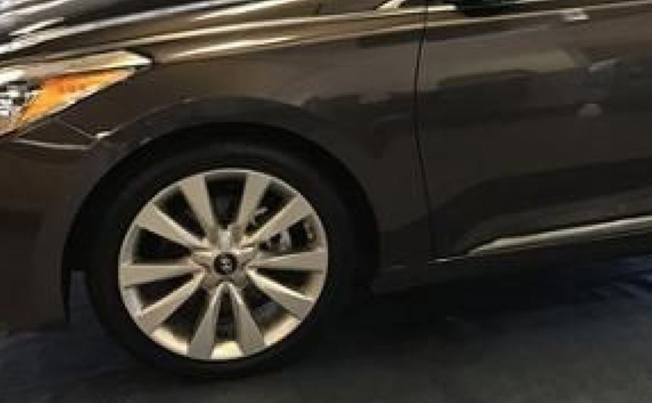 2016 hyundai azera wheels rims