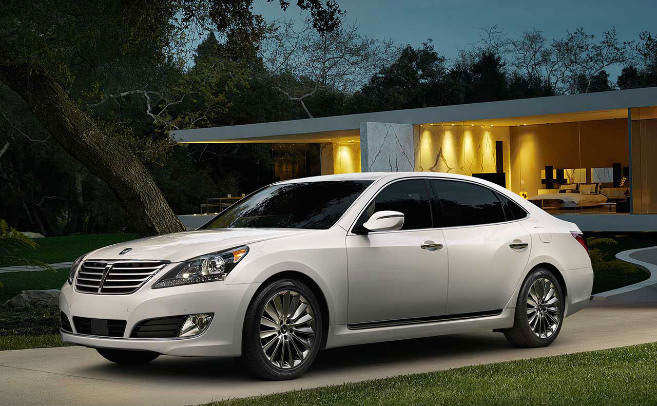 2016 hyundai equus exterior display door rim wheel