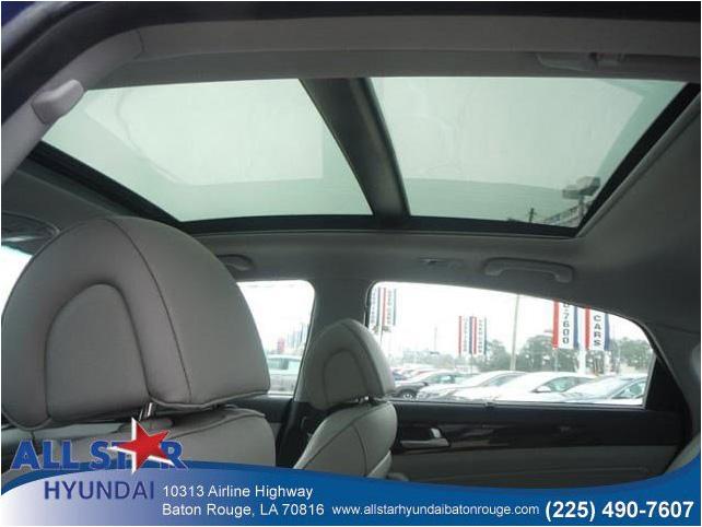 2016 hyundai sonata exterior silver front