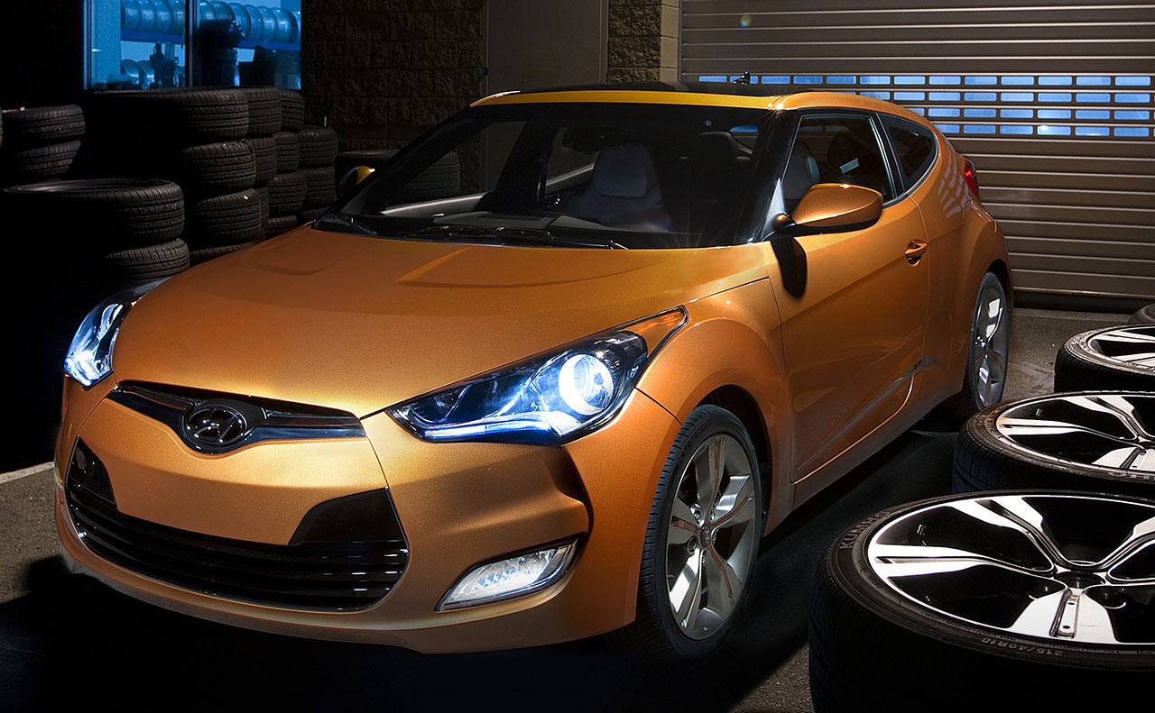 hyundai veloster exterior front