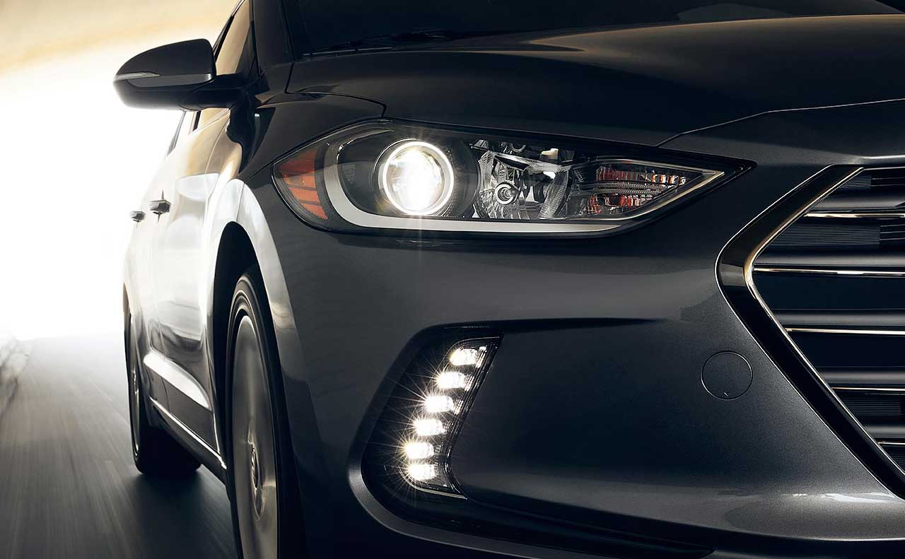 2017 hyundai elantra sale exterior dark head lights