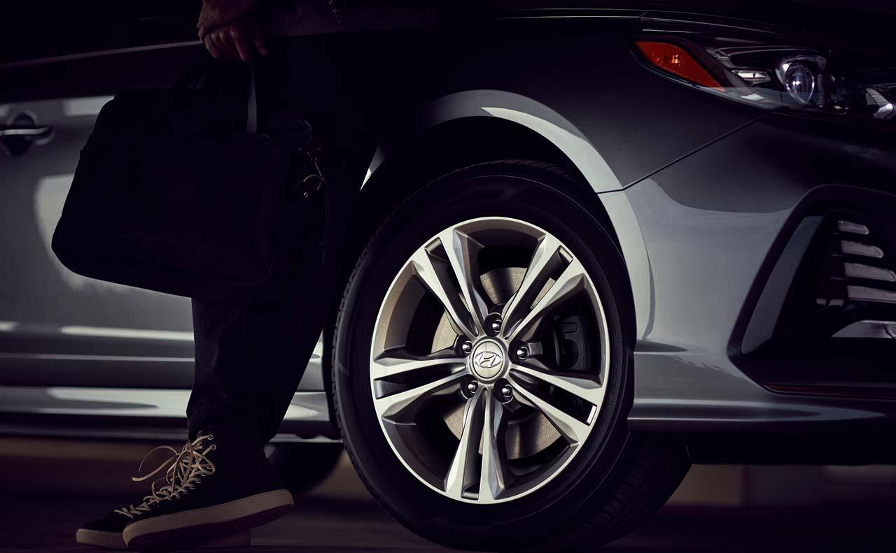 2018 hyundai sonata exterior wheels