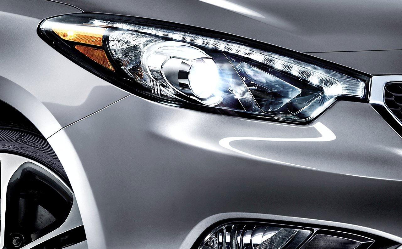 2016 kia forte exterior headlight silver