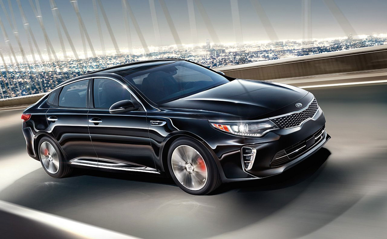 2016 kia optima exterior black motion headlights