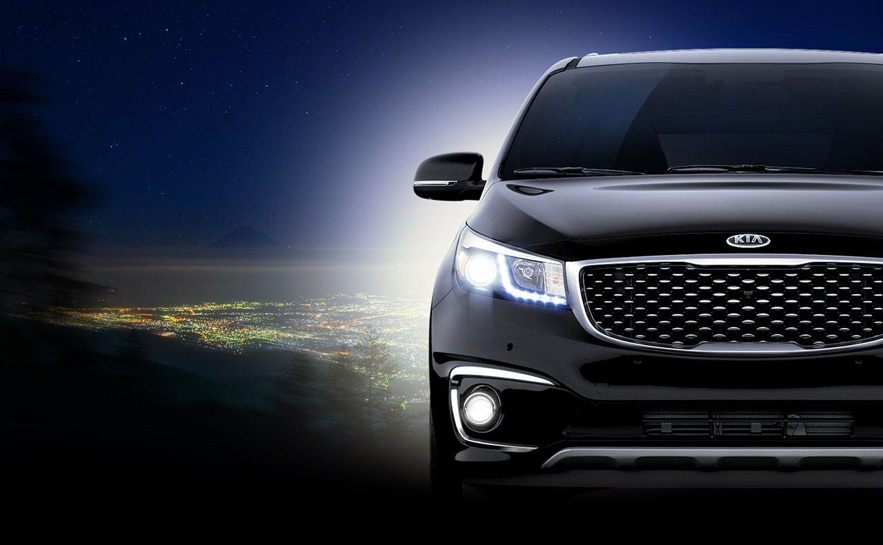 2016 kia sedona exterior headlight right grill front