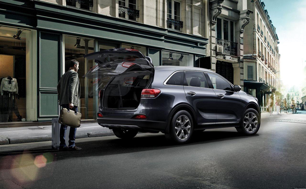 2016 kia sorento exterior rear hatch auto