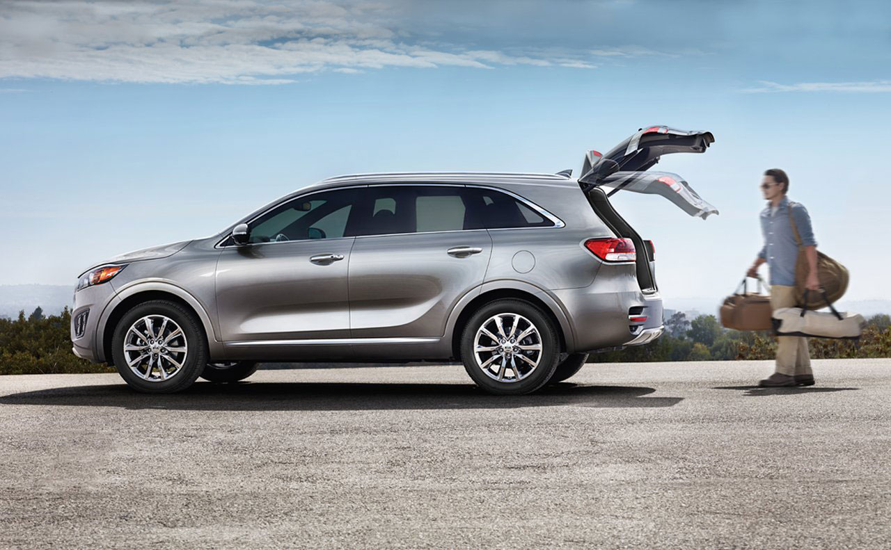 2017 kia sorento exterior hatch lift auto