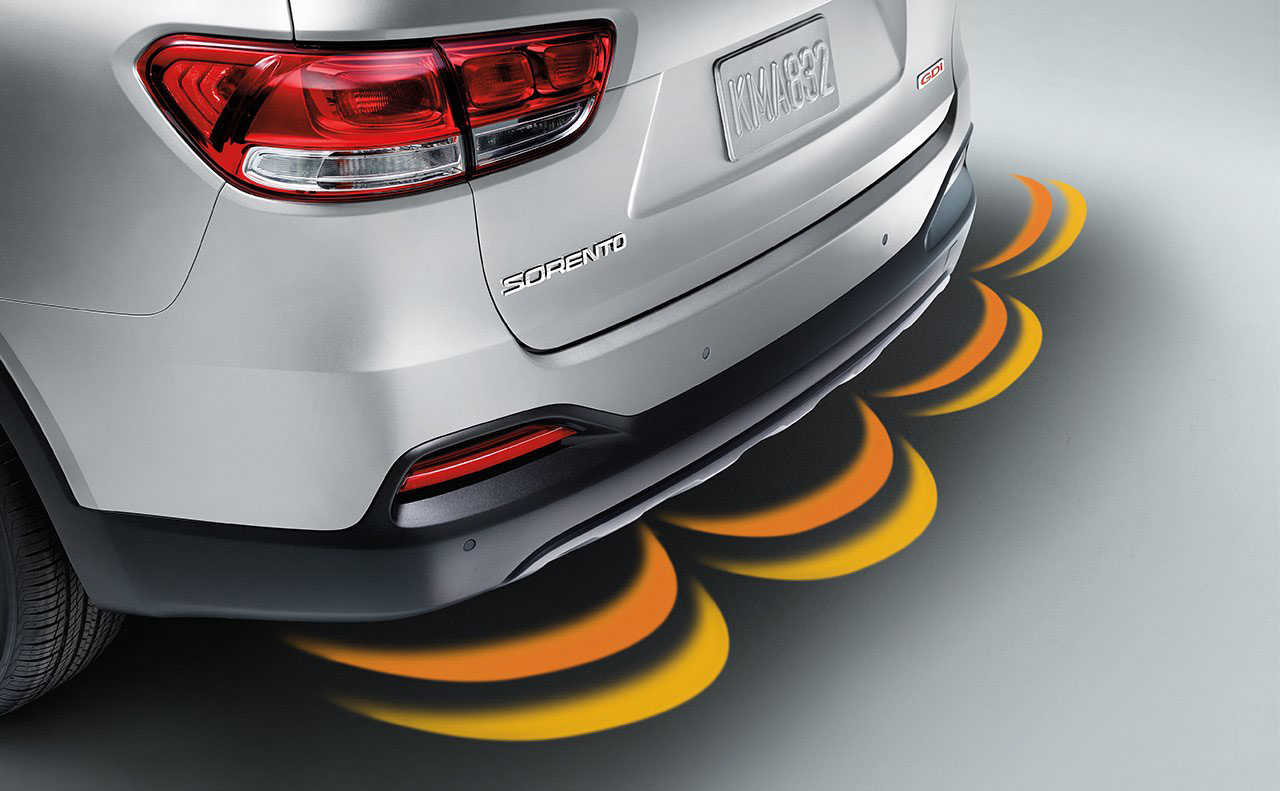 2017 kia sorento exterior rear back up