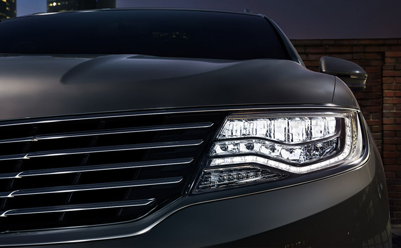 2016 Lincoln MKX exterior headlight