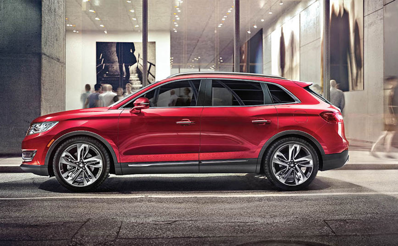 2016 Lincoln MKX exterior red