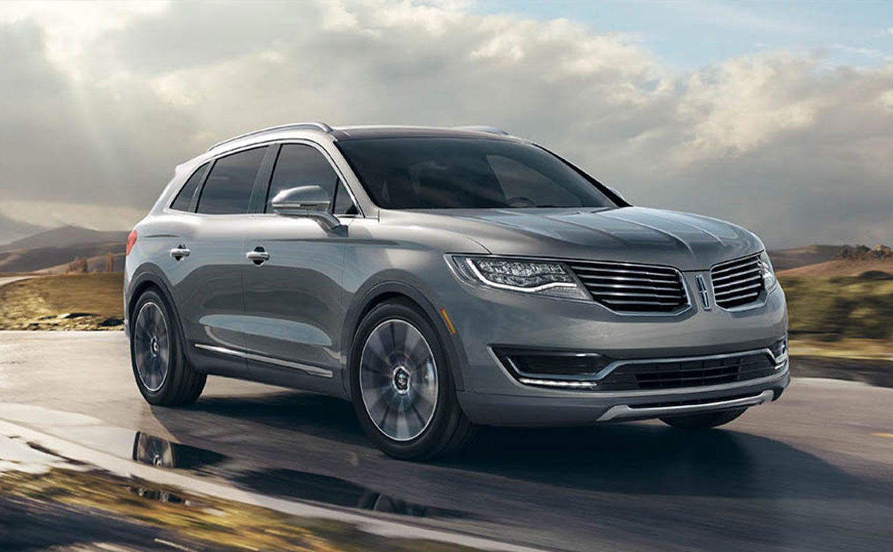 2016 Lincoln MKX exterior side