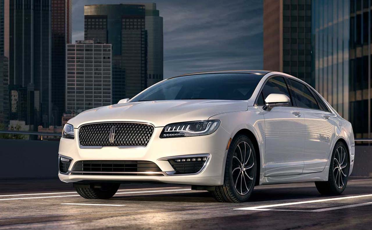 2016 lincoln mkz exterior front