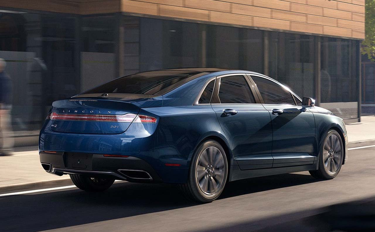 2016 lincoln mkz exterior right side