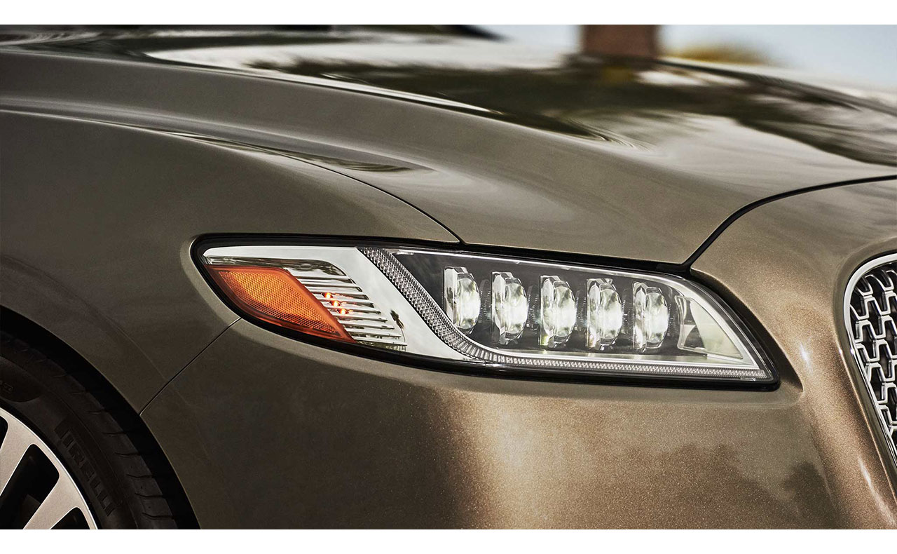 2017 lincoln continental exterior head light headligjt