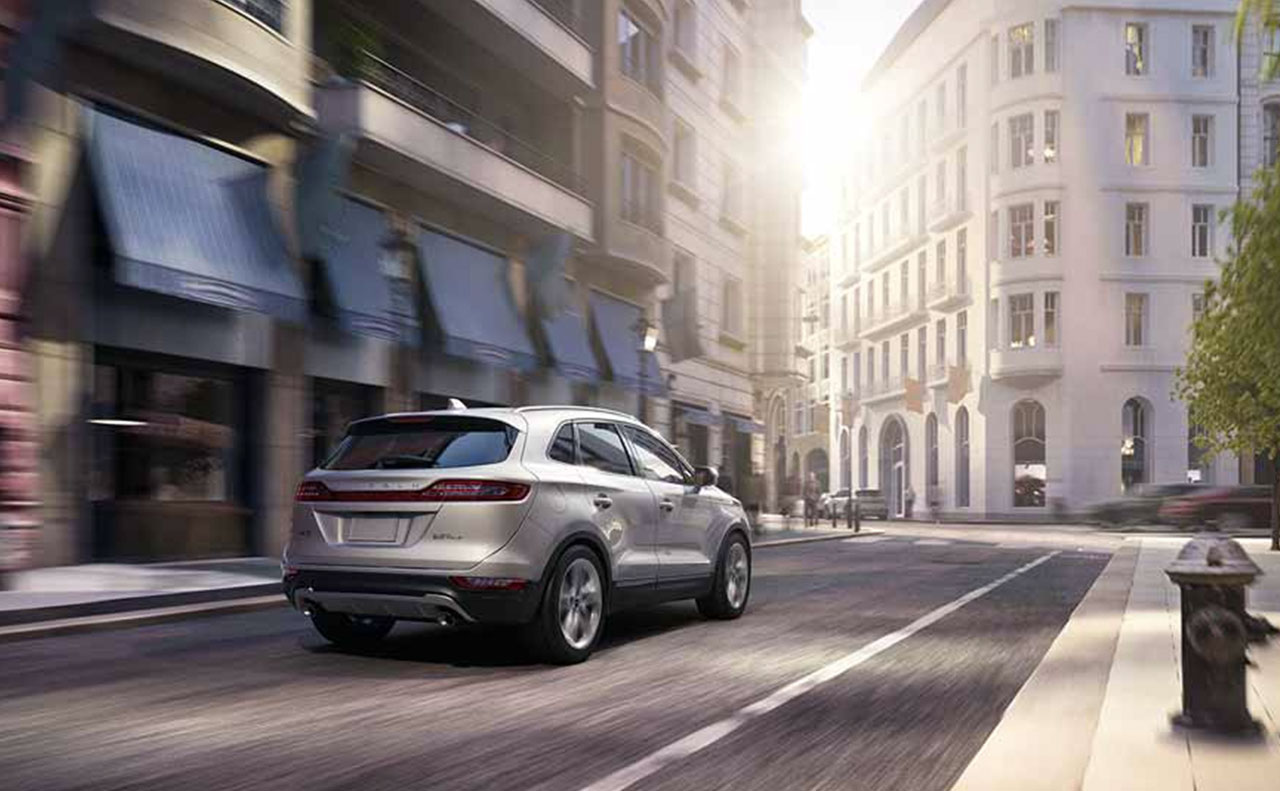 2017 lincoln mkc exterior in motion city