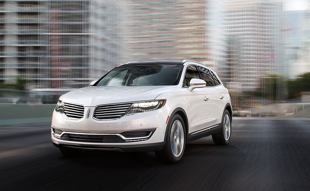 2017 lincoln mkx sale white grille lights