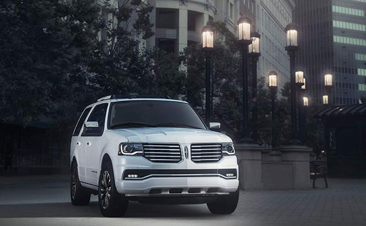 2017 lincoln navigator exterior front hood grille
