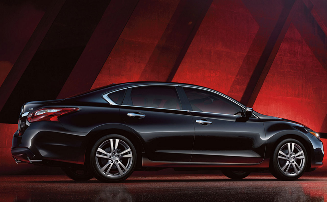 2016 nissan altima exterior black side wheels passenger