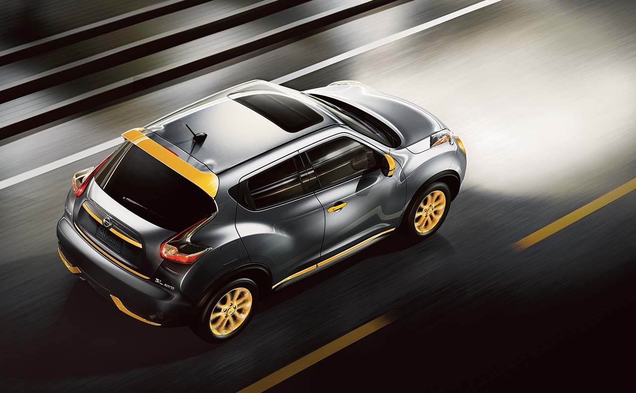 2016 nissan juke exterior top right