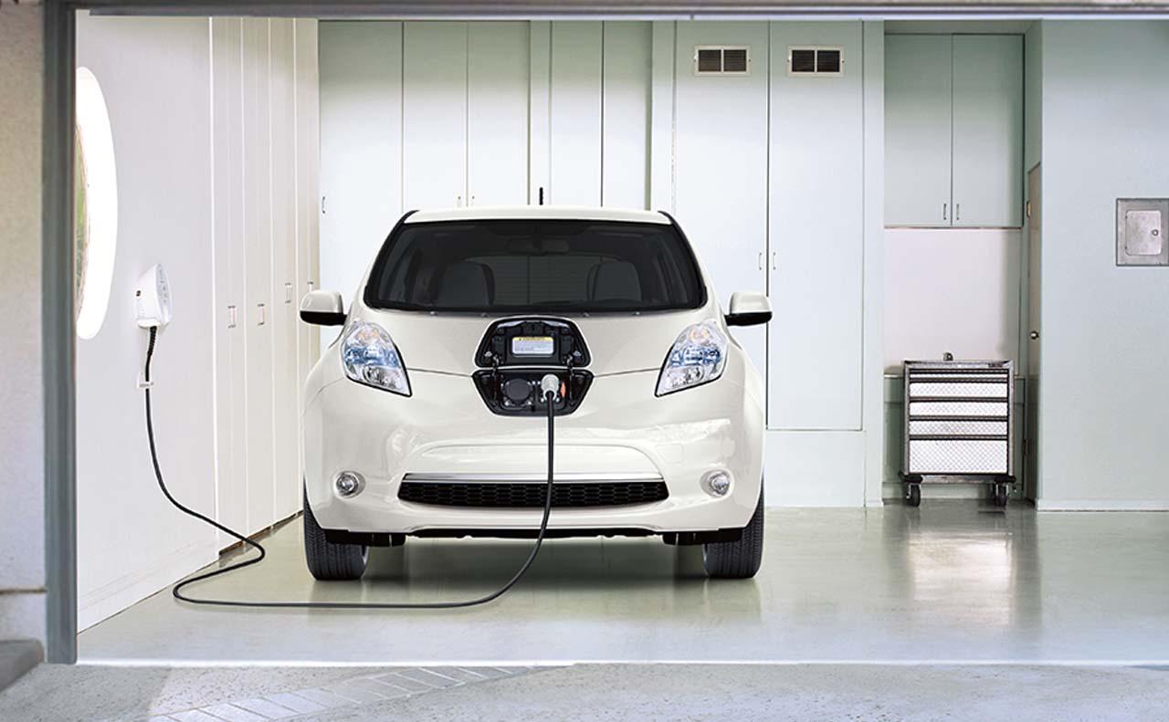2016 nissan leaf exterior charging