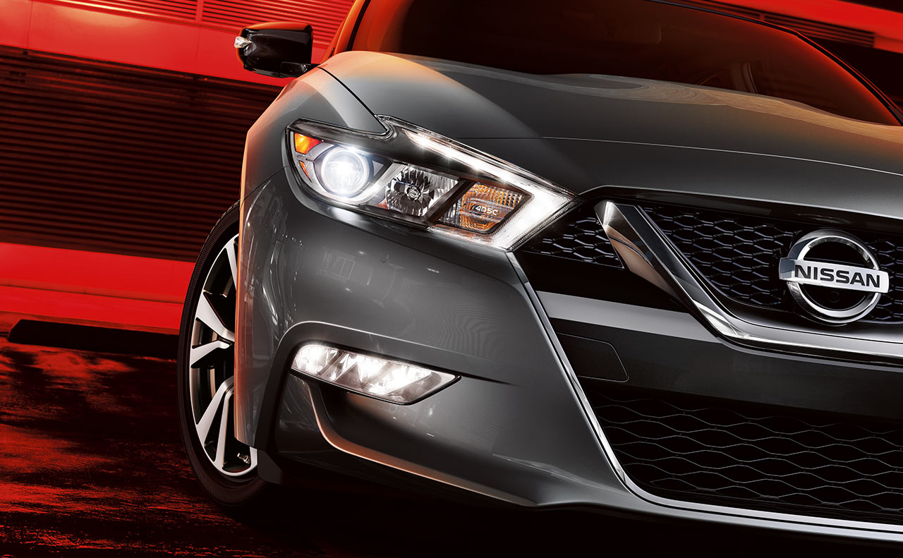 2016 nissan maxima exterior grille front hood