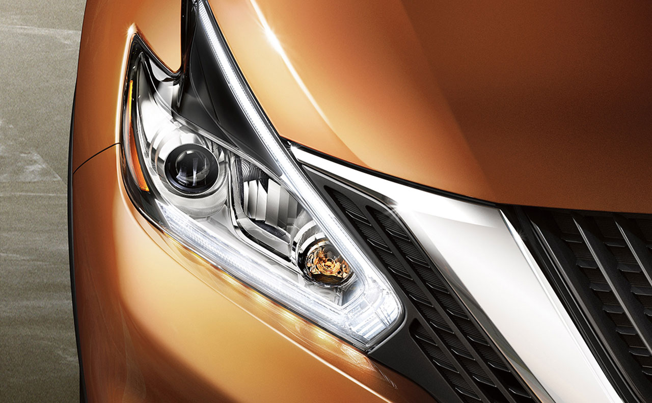 2016 nissan murano exterior headlight grille orange