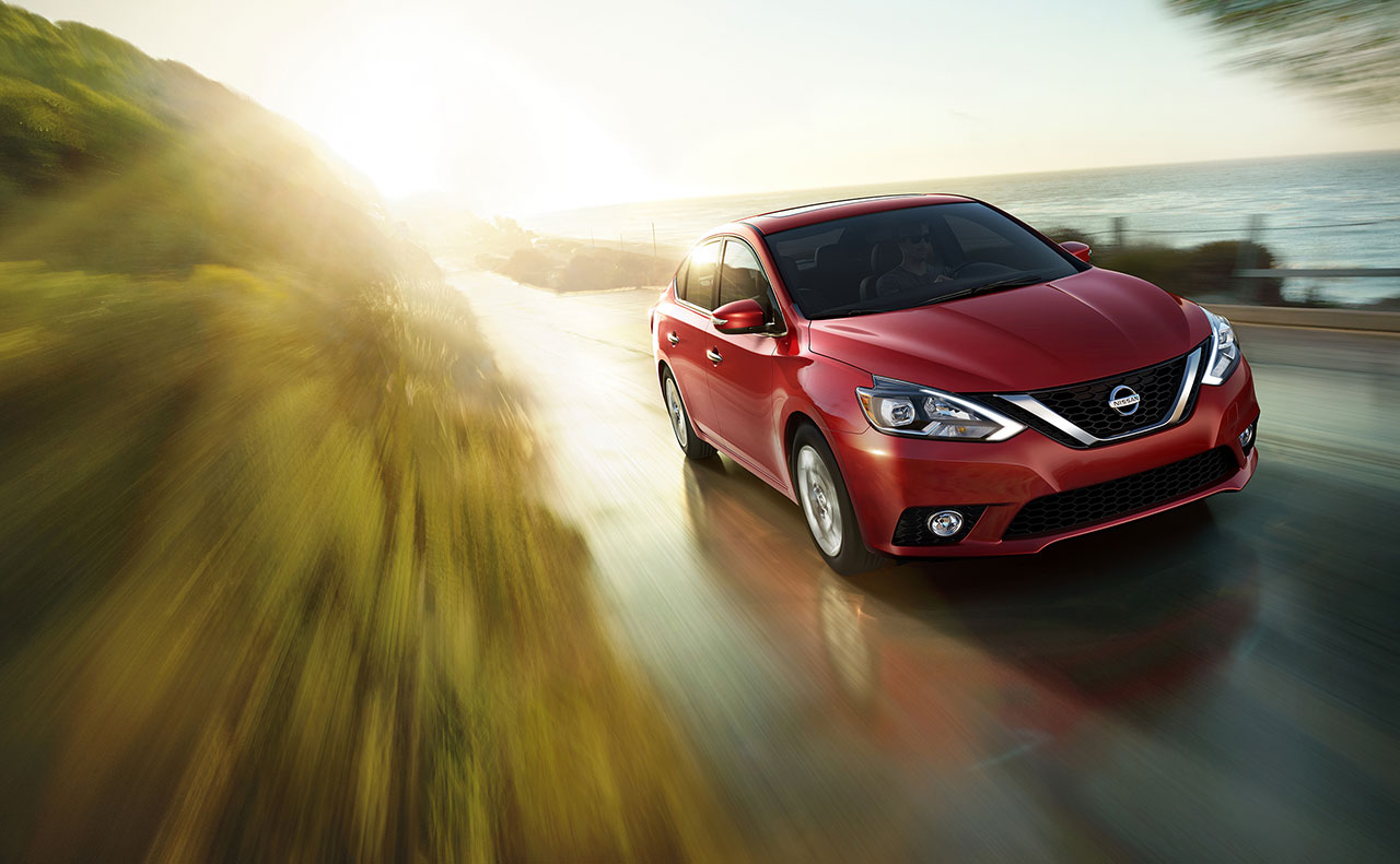 2016 nissan sentra motion red test drive