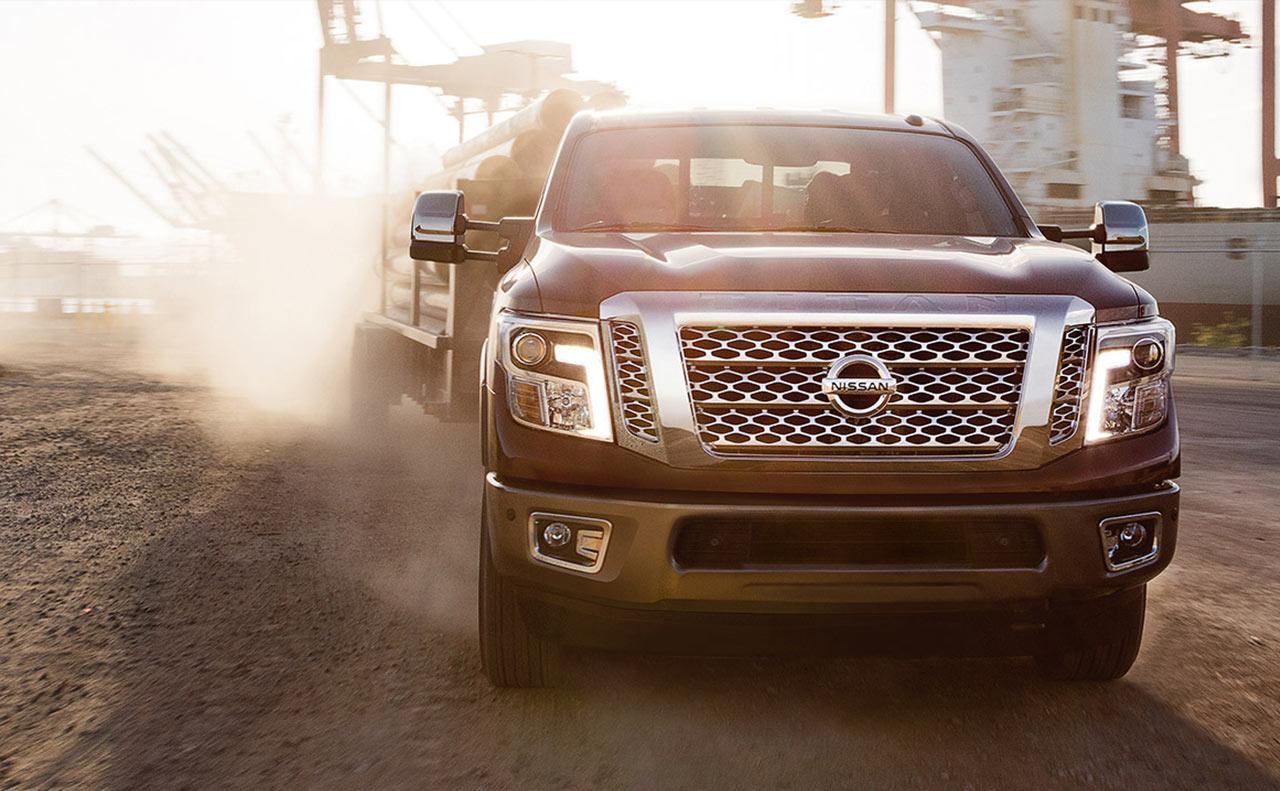 2016 nissan titan exterior grille dirt heavy duty