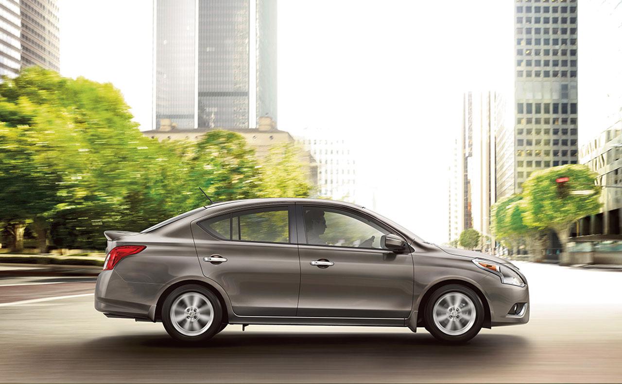 2016 nissan versa exterior driver wheel motion passenger side
