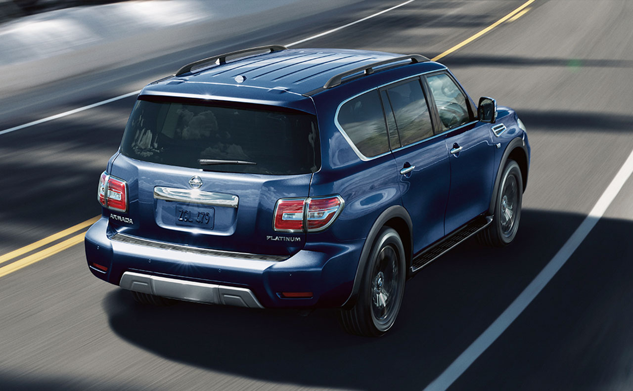 2017 nissan armada exterior blue motion driving wheels