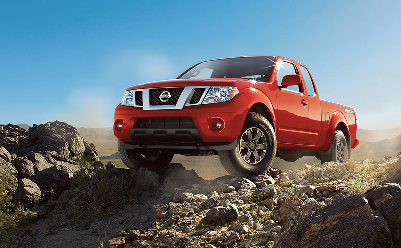 2017 nissan frontier exterior red electronic differential