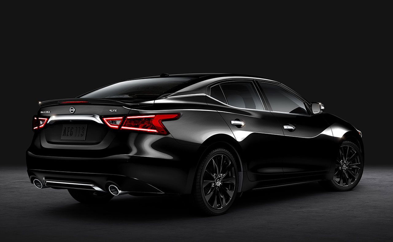 2017 nissan maxima exterior black rear display doors tail