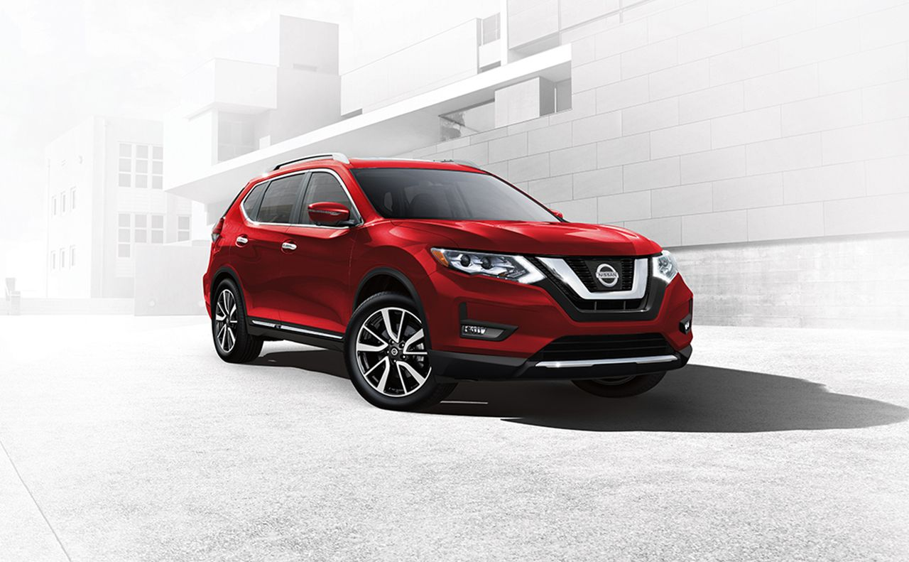 2017 nissan rogue exterior red display rims